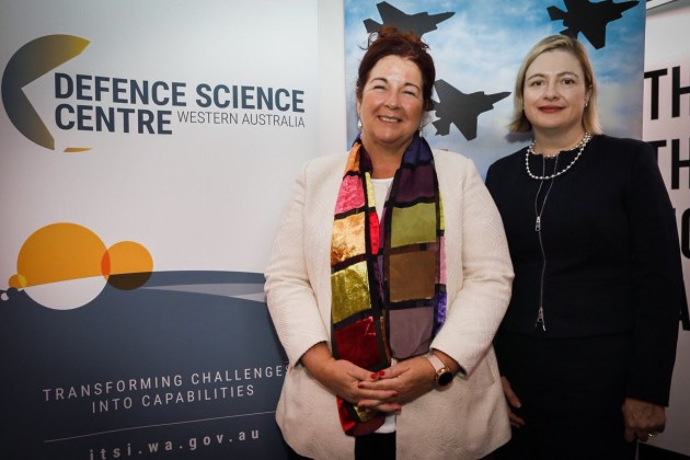 Minister for Defence Industry Melissa Price attended the launch. Credit: @Melissa4Durack