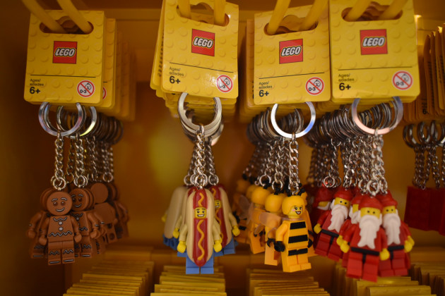 Lego's first certified store in Sydney.