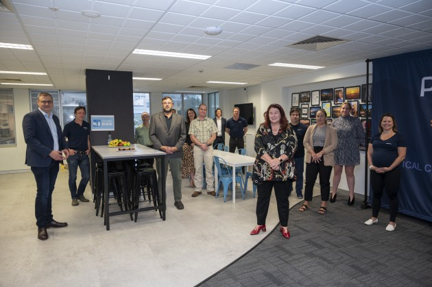 The unit was launched at Penten's Canberra headquarters by Minister for Defence Industry Melissa Price.  (Supplied)