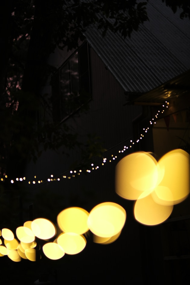 Christmas eve fairy lights in the garden. Thanks to the fast lens, images are super crisp and clean, and really make the most of the X-S10 sensor. Fujifilm X-S10, Fujinon XF 50mm f/1 R WR lens. 1/320s @ f1, ISO 640.