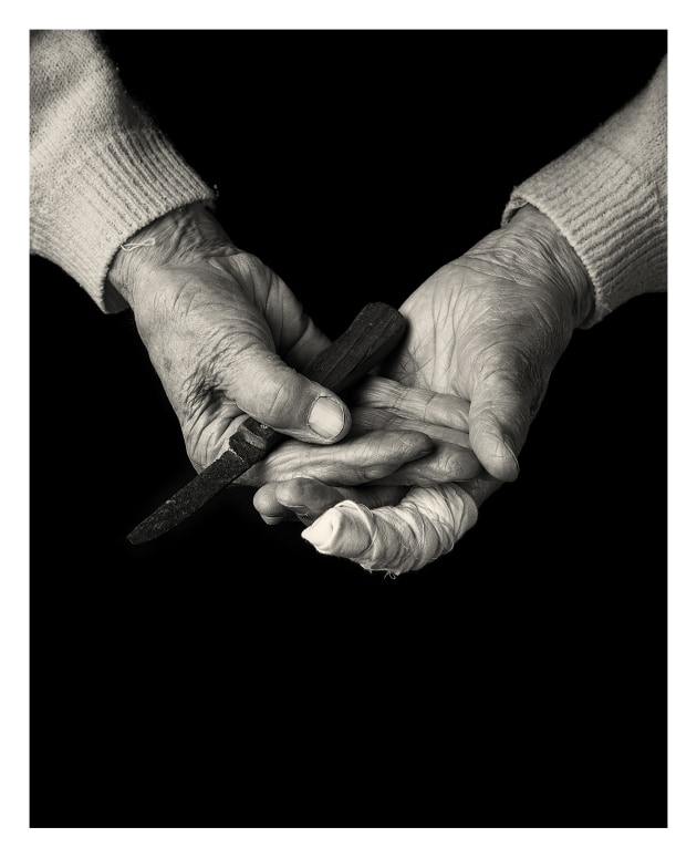 © Craig Easton. 'The hands that gut the herring, from Fisherwomen.