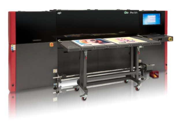 The EFI Pro 16h wide-format printer.