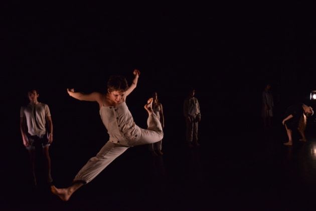 Eliza Cooper, Outstanding Ensemble Performance and Catapult Choreographic Hub Secondment winner. Photo: Dom O'Donnell.