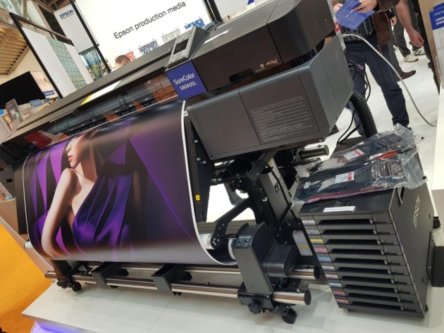 Bulk ink system: new for Epson SureColor