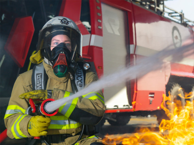 PFAS is present in legacy firefighting foams.