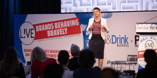 Brand Opus Nikki Moeschinger shares with the audience the importance of brands being disruptive, meaningful and memorable.