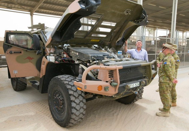 The Senate hearing looked under the bonnet of the redacted ANAO report on Hawkei.