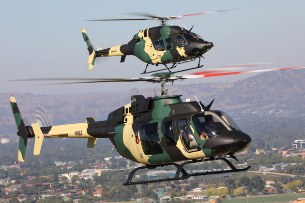 Hawker Pacific is seeking companies to join its team for the Special Forces helicopter. Credit: Hawker Pac