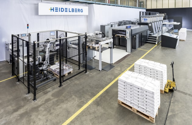 End-to-end production: Heidelberg at virtual.drupa