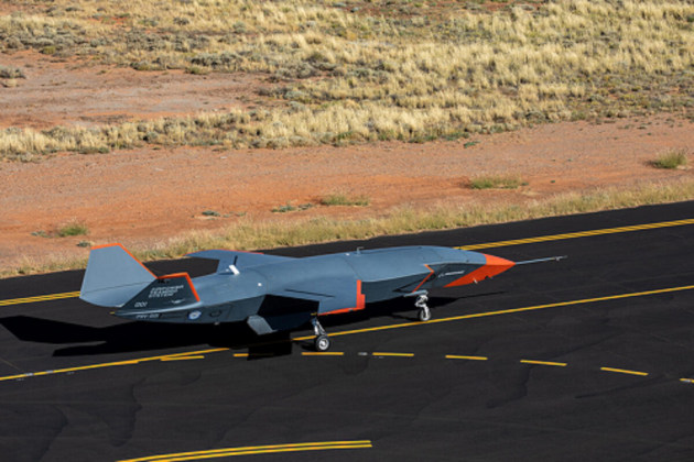Boeing Australia and the RAAF completed the first high-speed taxi test of the Loyal Wingman before Christmas in preparation for first flight. (Boeing)