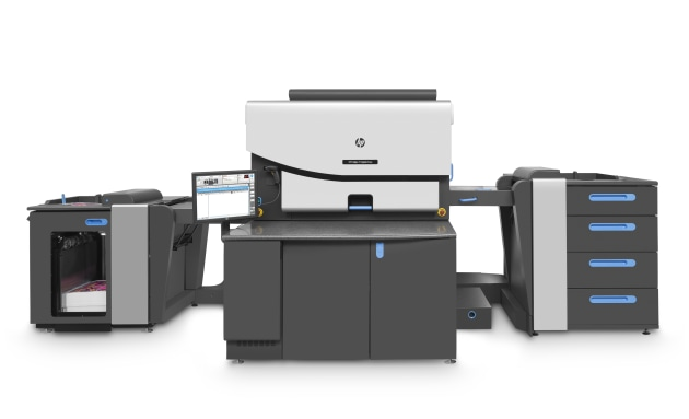 Bundled: HP INdigo 7r Digital Colour Press