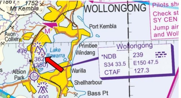 A VTC section showing the location of the proposed gas plume.