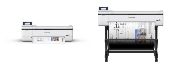 Multi-function: the two new SureColor T-Series printers
