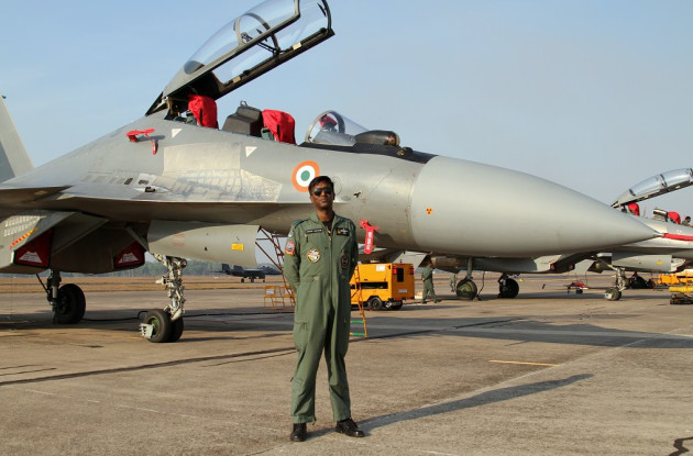 Commanding Officer of 102 Squadron, Group Captain Prem Anand, callsign 'Andy'.