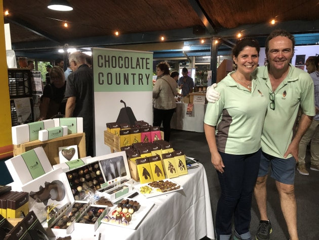Chocolate Country's Paul and Julie Walters with their expanding premium chocolate range.