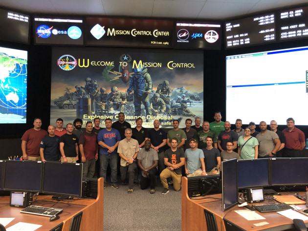 The five-day Robotics Workshop was jointly hosted by NASA and the CTTSO. Credit: EPE