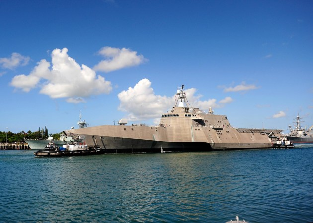 Austal has handed over three LCS vessels to the Navy this year. 