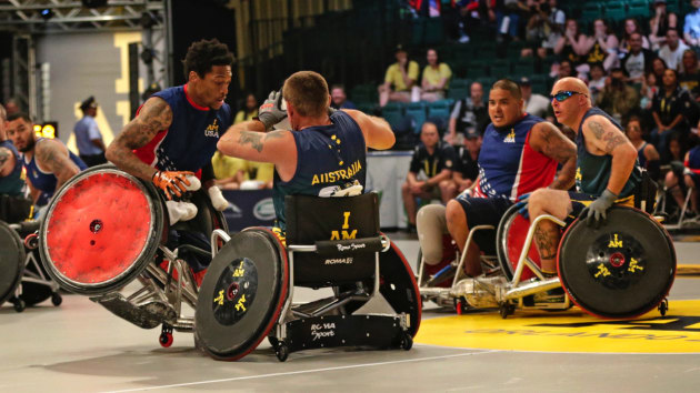 The Invictus Games were founded by Prince Harry to support wounded veterans. Credit: Invictus Games