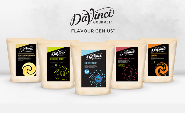 Five new beverage solutions to enhance wellbeing have been launched by DaVinci Gourmet.