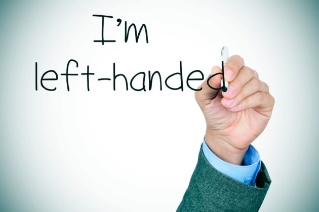 Left handed people are awesome. (Spoken by a true lefty!)