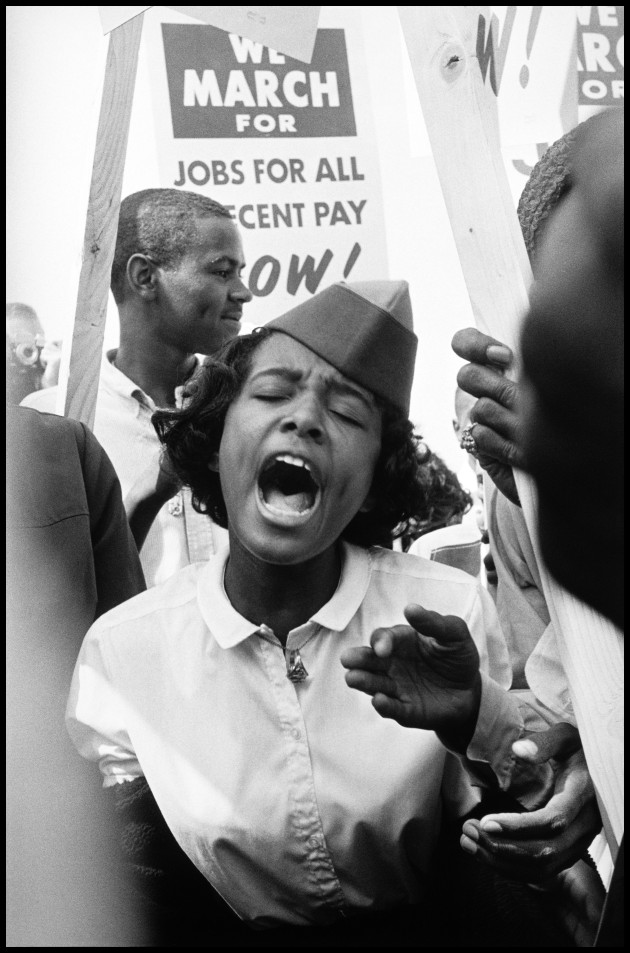 The March on Washington. Washington, D.C., USA. August 28, 1963. Leonard Freed/Magnum Photos.