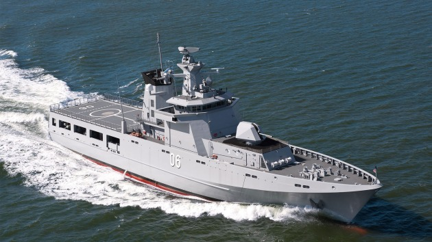 Taylor Bros will work on accommodation for the OPVs. Credit: Luerssen