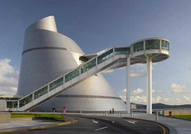 © Kristopher Grunert. Macau Science Centre. Pei Partnership Architects.