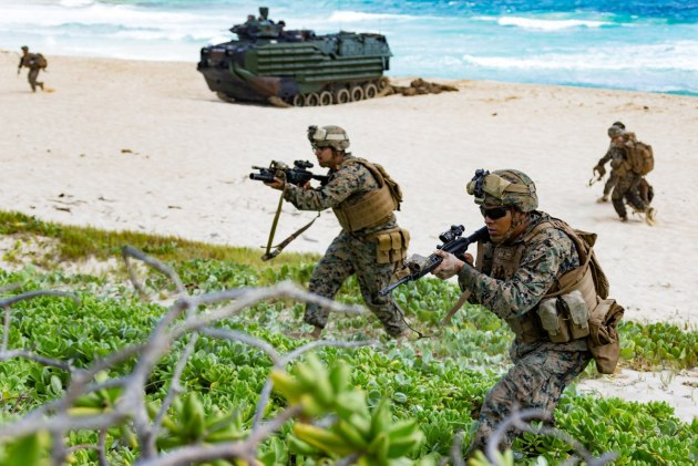 Ballistic plates with Australian technology could be used to protect US Marines.