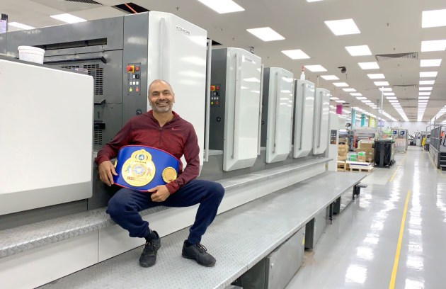 Champion: Mark Singh, CEO, Focus Press