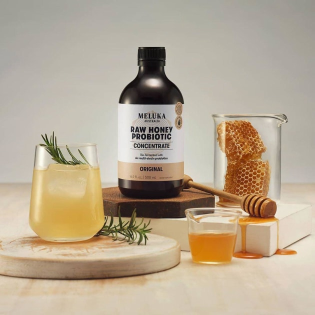 Meluka Australia says its Original Raw Honey Probiotic Concentrate, made with a bio-fermentation process, can help improve digestion, boost immunity and support weight management.