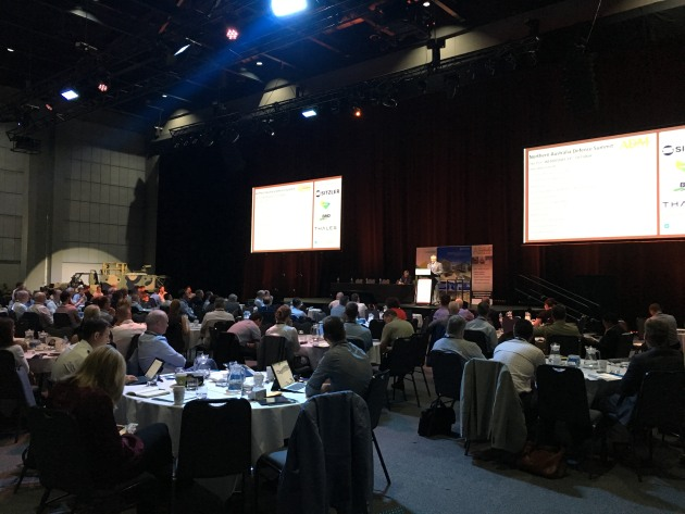 Delegates at the seventh annual ADM Northern Australia Defence Summit in Darwin.