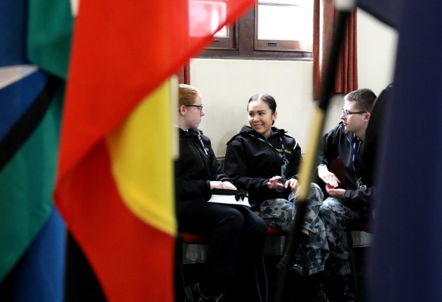 Defence members reflect on the importance of NAIDOC Week at HMAS Cerberus, Victoria. Credit: Defence