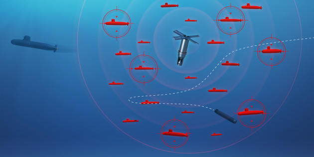 A concept image of the CANTO countermeasures system.