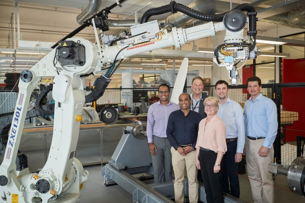 Naval Group and the AMAC at UNSW say they will continue exploring the collaboration possibilities to support Naval Group's expanding field of composites related R&D. (supplied)