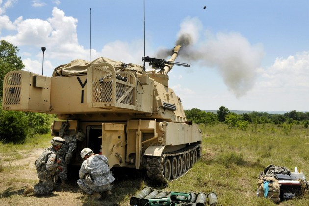 The new round will be capable of firing from the US Army's Paladin self-propelled howitzers.