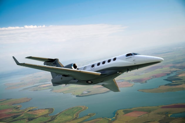 Embraer's Phenom 300 now has a top speed of 0.80 Mach. (Embraer Executive Jets)