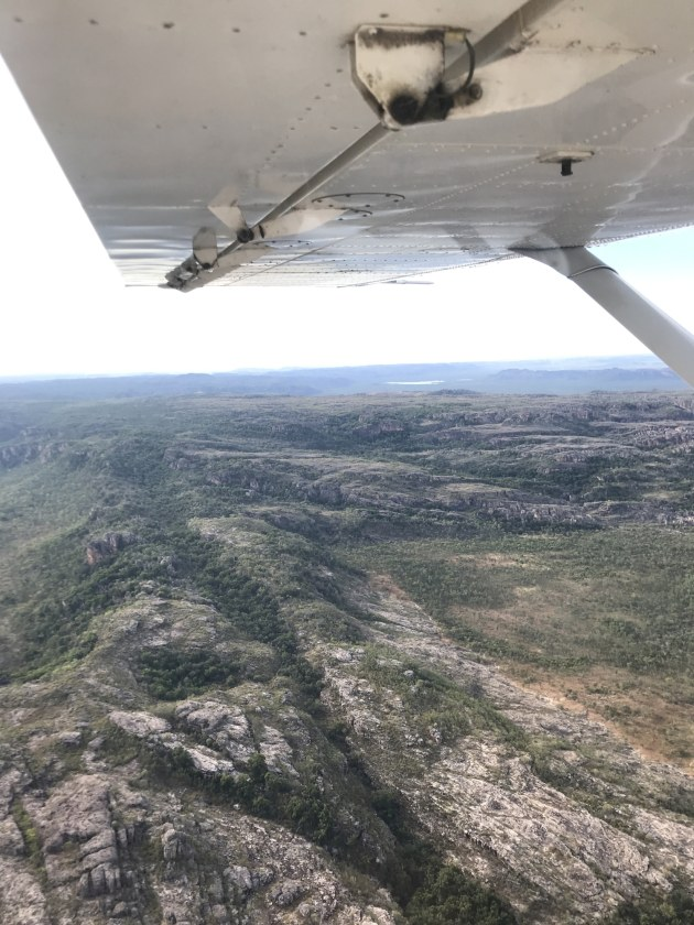 Scenic flight over Kakadu.