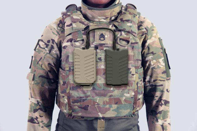 Pitbull soldier worn anti-drone jammer