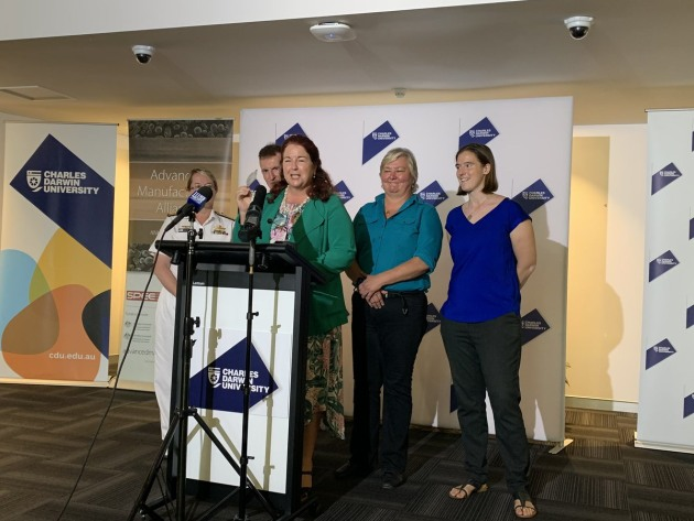 Minister for Defence Industry Melissa Price rejected AIDN's criticism at the announcement of RAN's new 3D printing tech in Darwin last week.