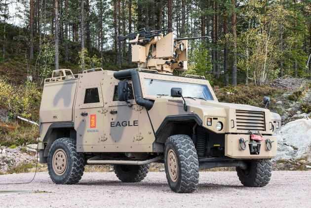 The Canadian Army will receive the latest generation Protector.