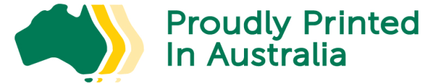 Free for printers to use: new logo to indicate printed in Australia