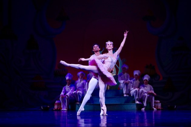 Georgia Swan and Patricio Reve in another cast.
