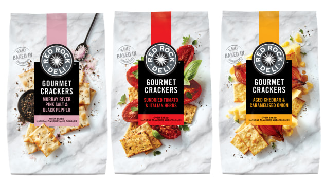 Well known for its flavour combinations in the chip aisle, Red Rock Deli is now making a move into the premium cracker category.
