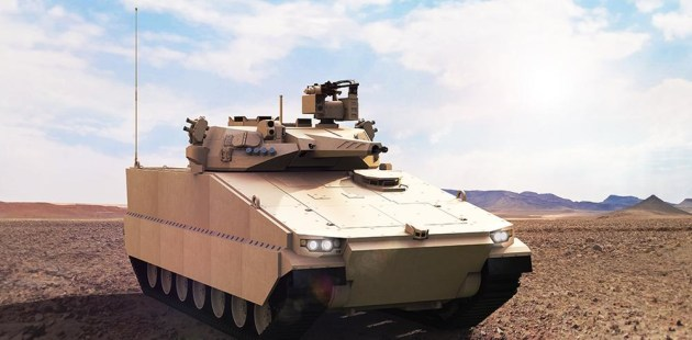 The Redback IFV is based on Hanwha's indigenous K21 IFV.