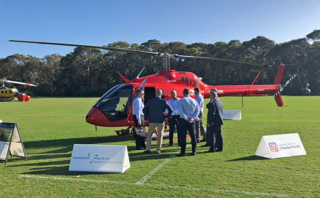 RotorTech 2018 was so well attended the event outgrew its old home on the Gold Coast. (Hawker Pacific)