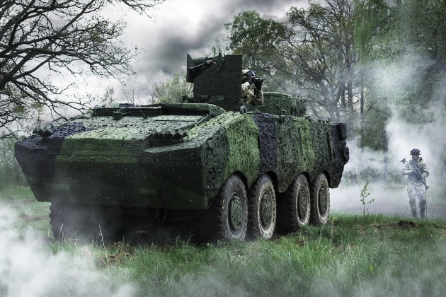 Mobile Camouflage Systems and multispectral camouflage screens will be made in Australia. (Credit: Saab)