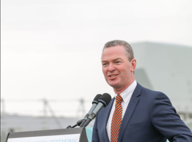 Minister for Defence Christopher Pyne announced his retirement before the federal election. AWD Alliance