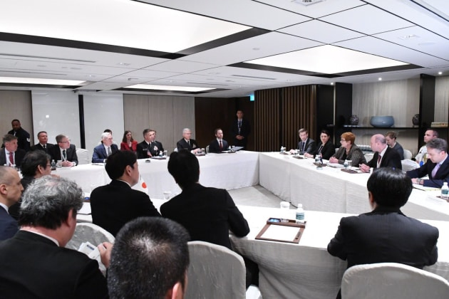 Mattis' statements suggest the US wants to see more military and industrial cooperation between Australia and Japan.
