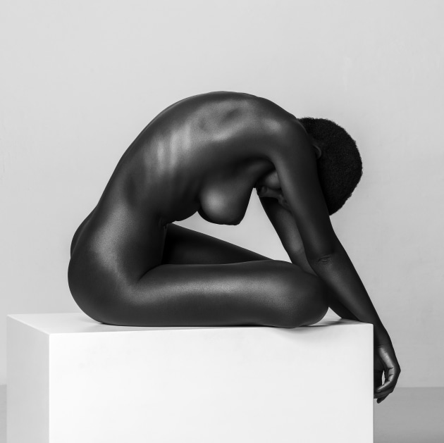 "© Thomas Holm. Ebony Carving. ""Sculptural images are all about lighting, form, and texture. Minimalistic is my favourite approach like this image with Shasta Wonder."""