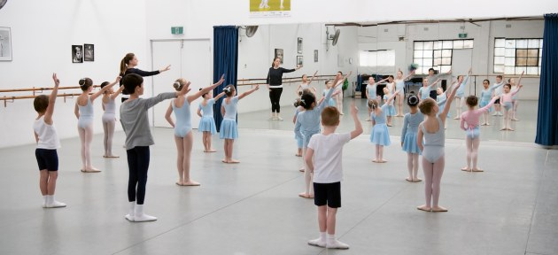 Young pupils at Sinead Vidler's Academy Ballet in Sydney.jpg